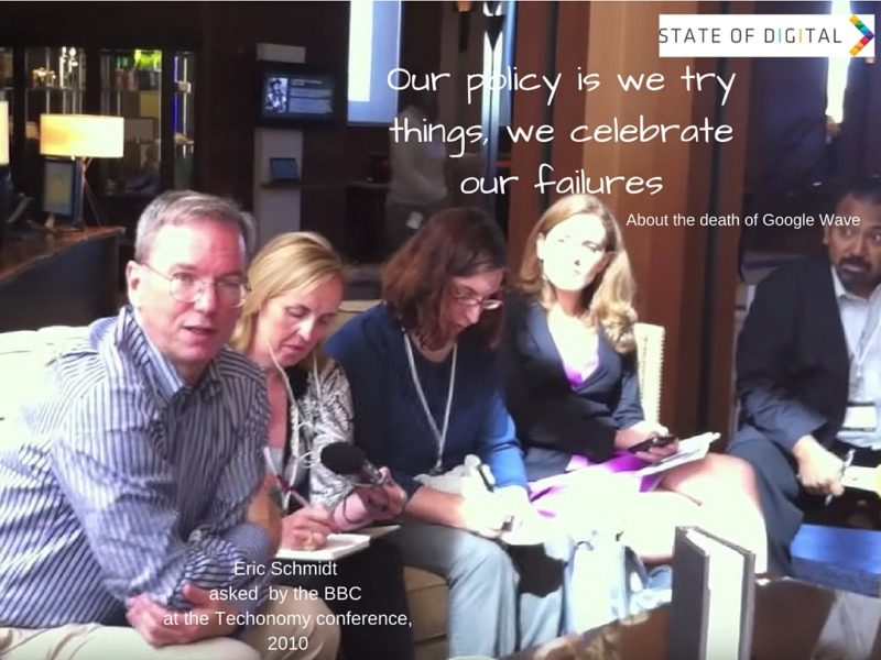 Our_policy_is_we_try_things__we_celebrate_our_failures_-_Eric_Schmidt