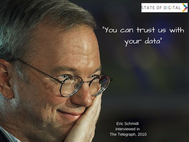 You can trust us with your data