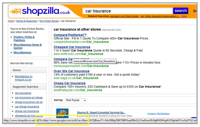 Possible Adwords Implementation