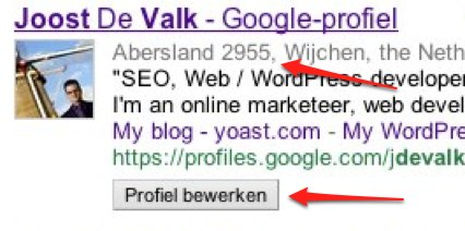 google-profiel-intro