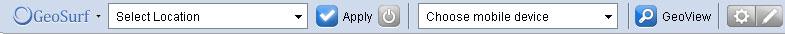 Geosurf Toolbar
