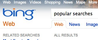 Bing-popular-searches