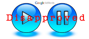 adwords-dissaproved