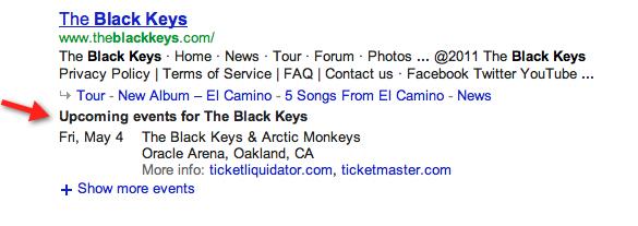google_concert_information