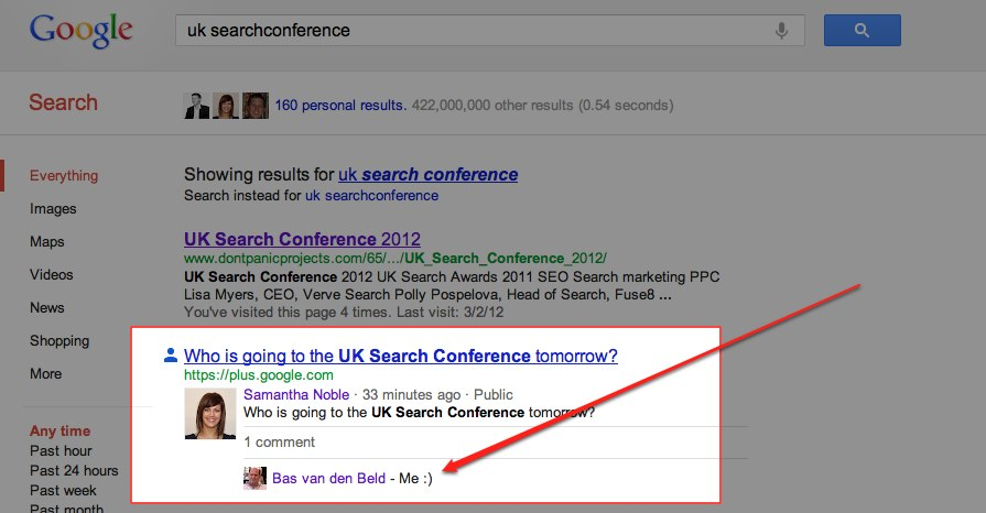 discussion-in-serps