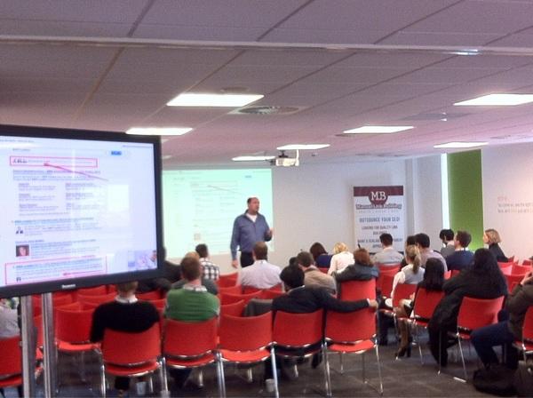 SAScon: Bas van den Beld speaking about psychology of search