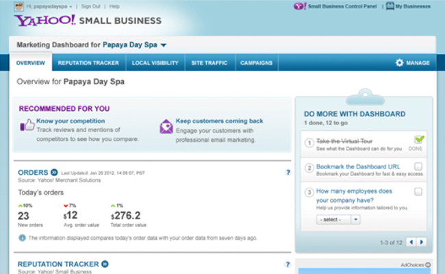 free business report images on yahoo