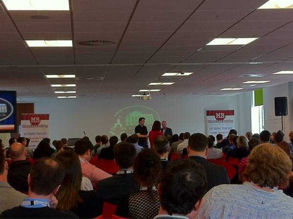 Peter Young and Neil Walker at SAScon
