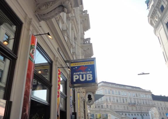Aussie pub in Vienna