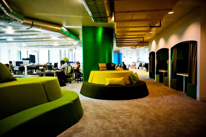 google london office. looks google london office o