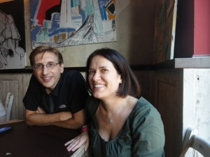 Elena and Stefano 300x225 Euro 2012   Interview with 6 SEOs in Florence
