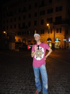 Zen2Seo with flag e1341517296504 225x300 Euro 2012   Interview with Giuseppe Pastore in Rome
