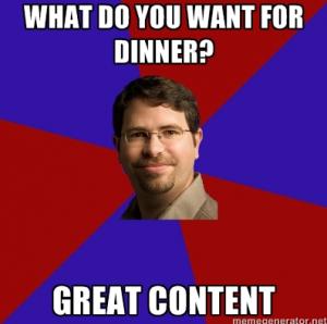 SEO content memes