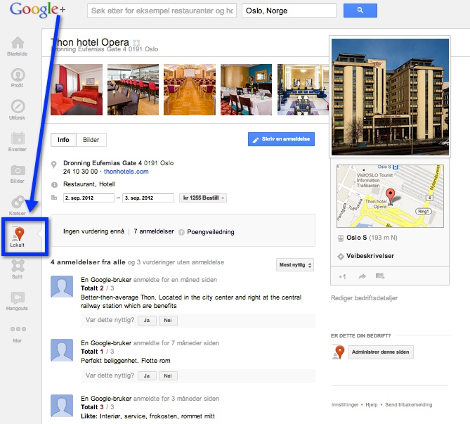 how to make a great google plus page