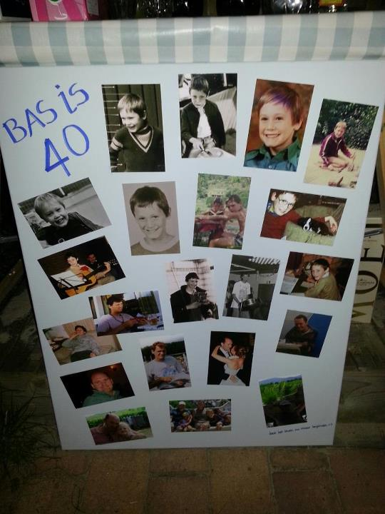 Collage made for me for my 40th birthday by my wife. Yes its all me :)