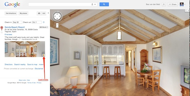 Google-Maps-Inside