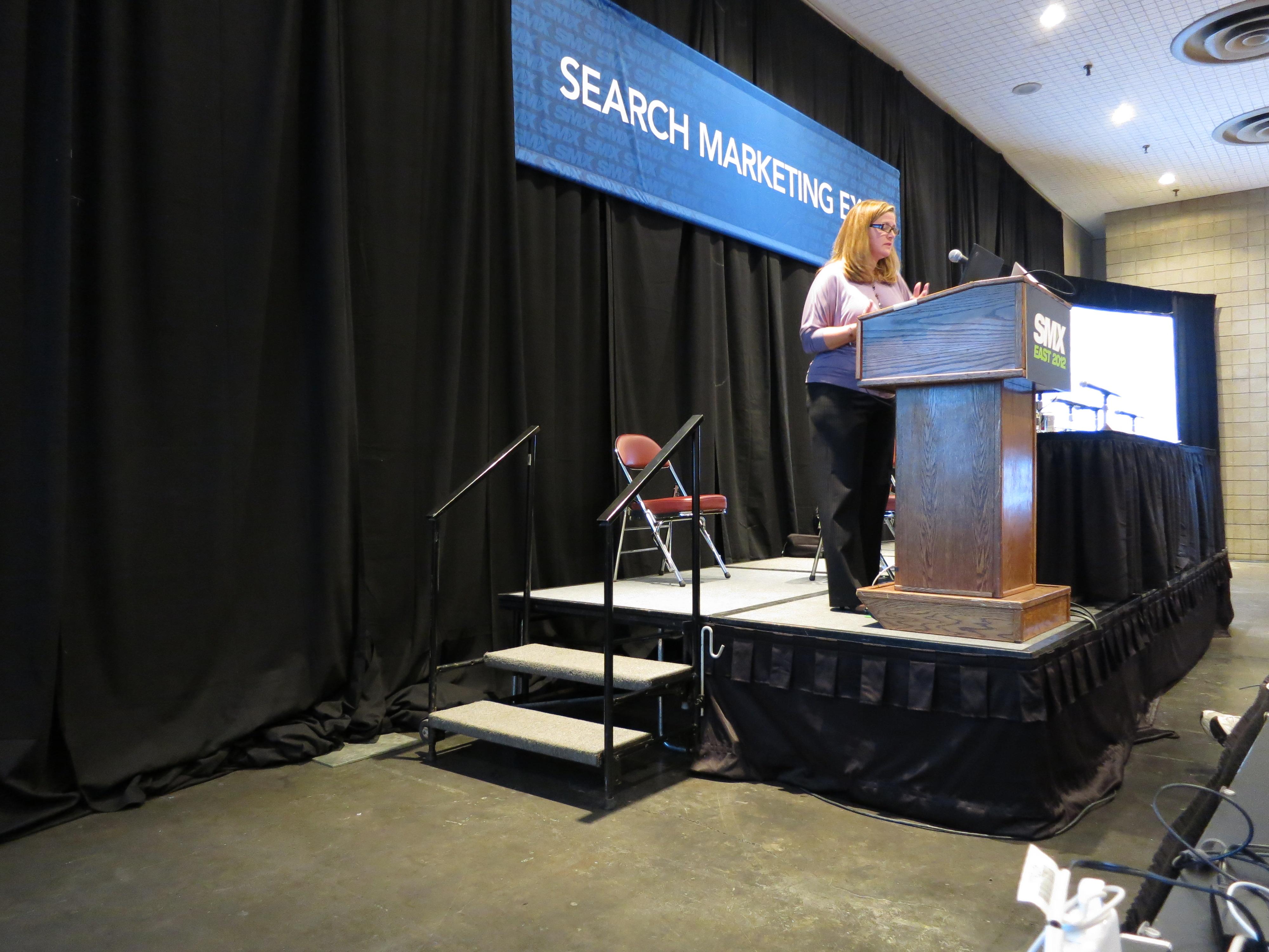 Debra Presenting