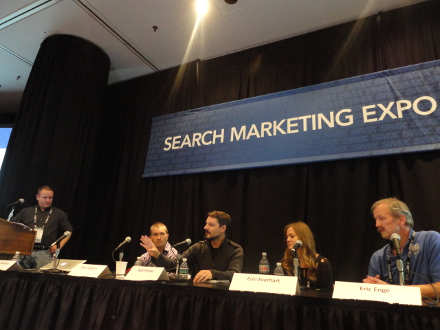 Matt McGee Moderating at SMX