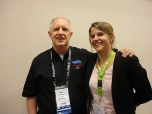 Matt Van Wagner and Jo Turnbull