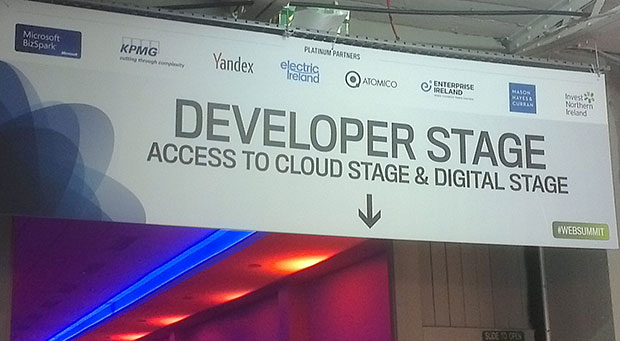 Dublin Web Summit developer stage