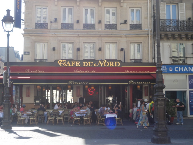 French cafe, Paris
