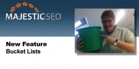 Majestic SEO Bucket Lists Link Management