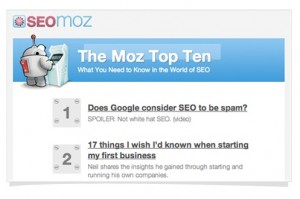 The Moz Top 10 SEOmoz