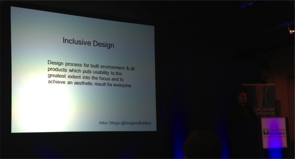 A Definition of Inclusive Design by Artur Ortega
