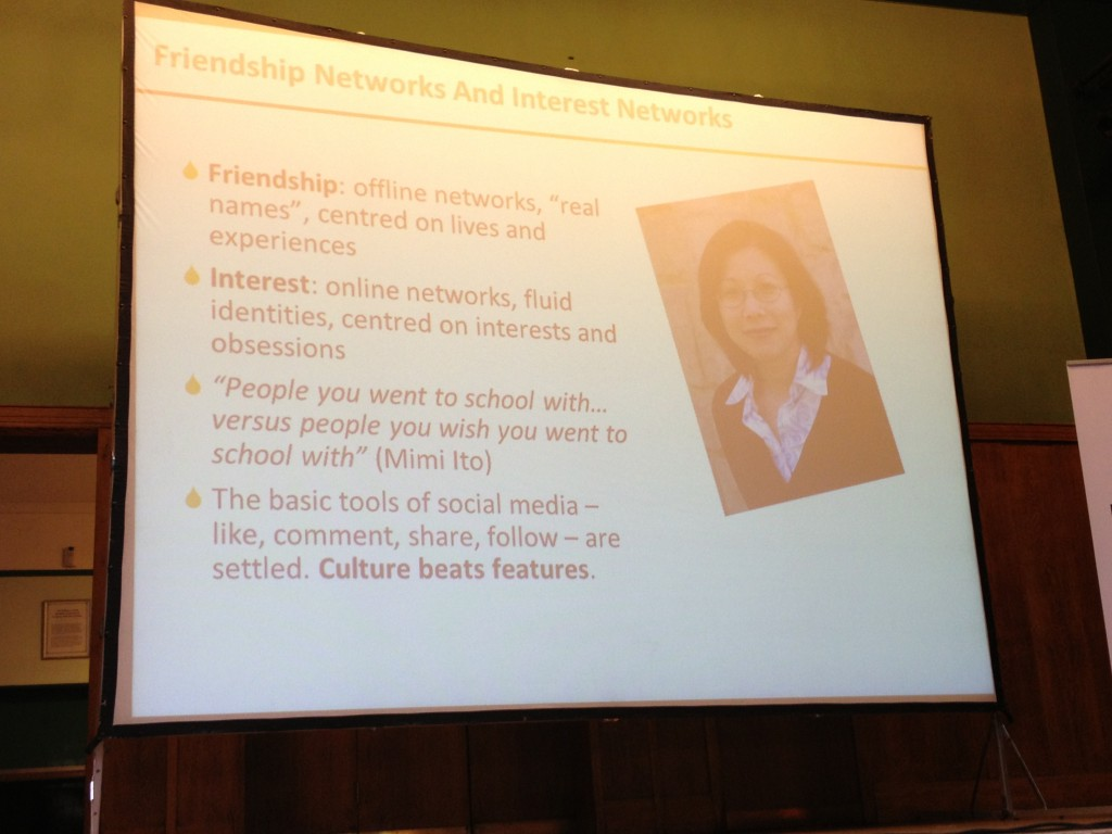 Mimi Ito Friendship Networks and Interest Networks