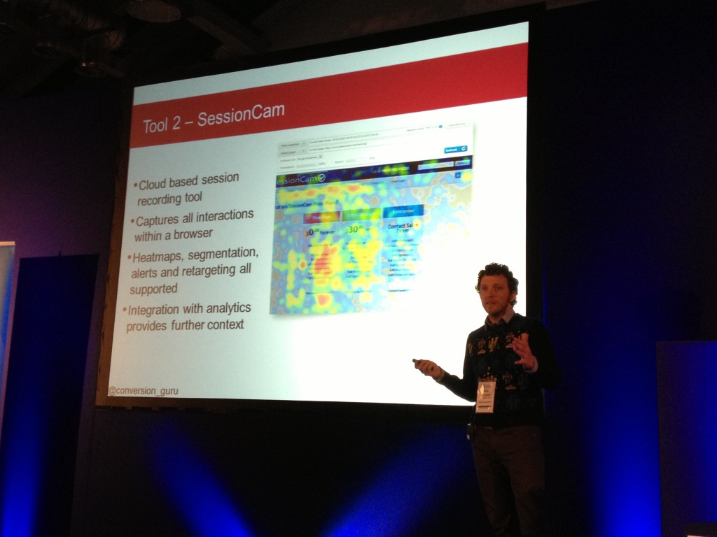 Sessioncam Conversion Conference London