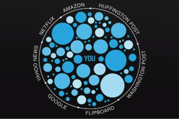 The Effect of the Filter Bubble