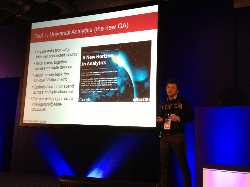 Universal Analytics Rob Jackson Conversion Conference London