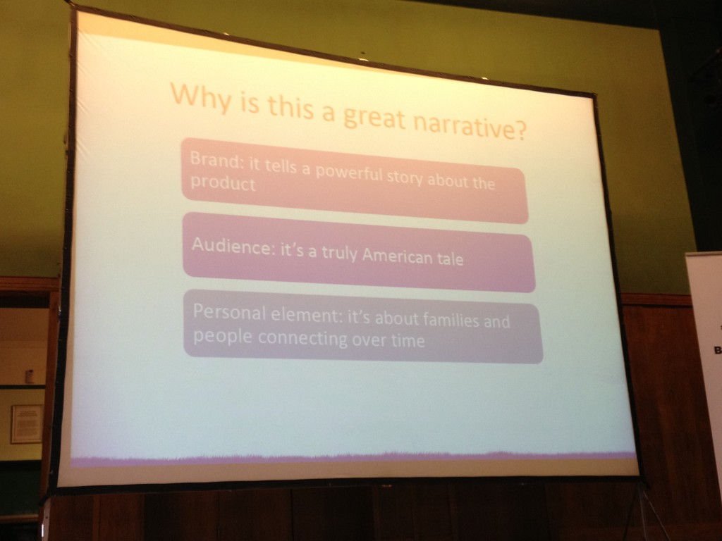 Using Great Narrative for Content