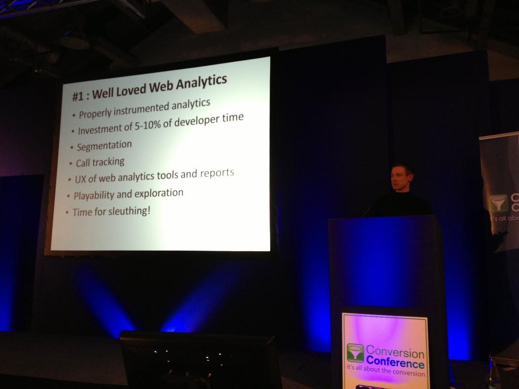 Web Analytics Tools Craig Sullivan Conversion Conference London