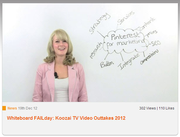 Koozai Whiteboard Fails