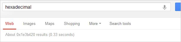 google_easter_egg_hexadecimal