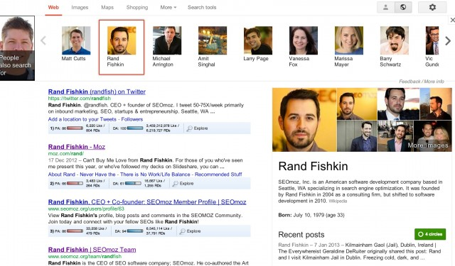 Rand Fishkin - Knowledge Graph