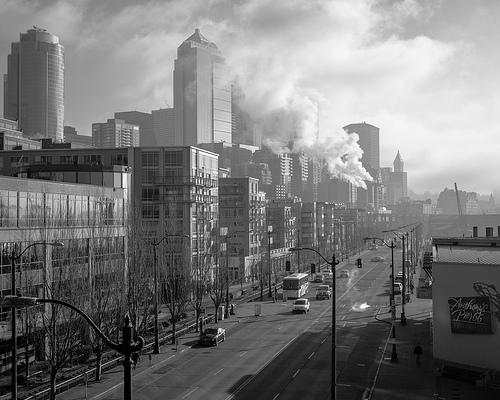 Seattle Skyline by Rudy Lopez
