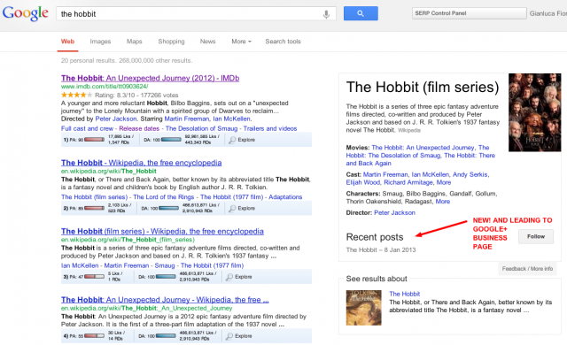 the hobbit   Google Search Knowledge Graph