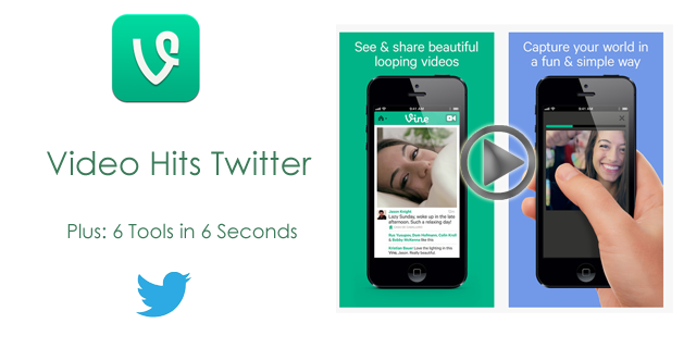 VINE APP Video Hits Twitter