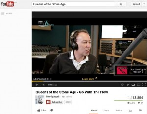 BBC 6 Music YouTube targetting advert