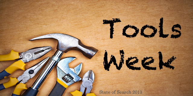 Tools Week 2013 on State of Search
