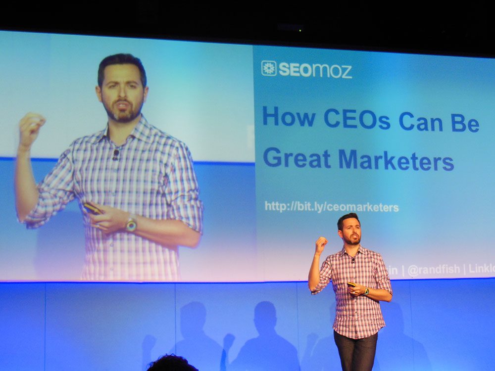 How CEOS Can Be Great Marketers Rand Fishkin