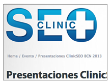 Clinic SEO - eShow Barcelona 2013