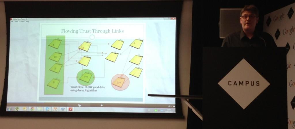 Dixon Jones Talks About Trust Flow at #SearchLondon