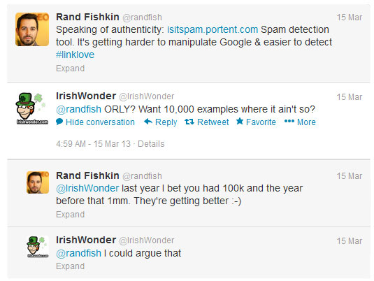 Irish Wonder tweets