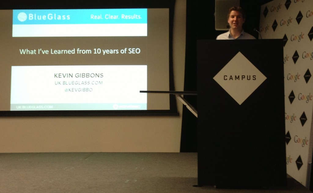 Kevin Gibbons Speaking at Search London