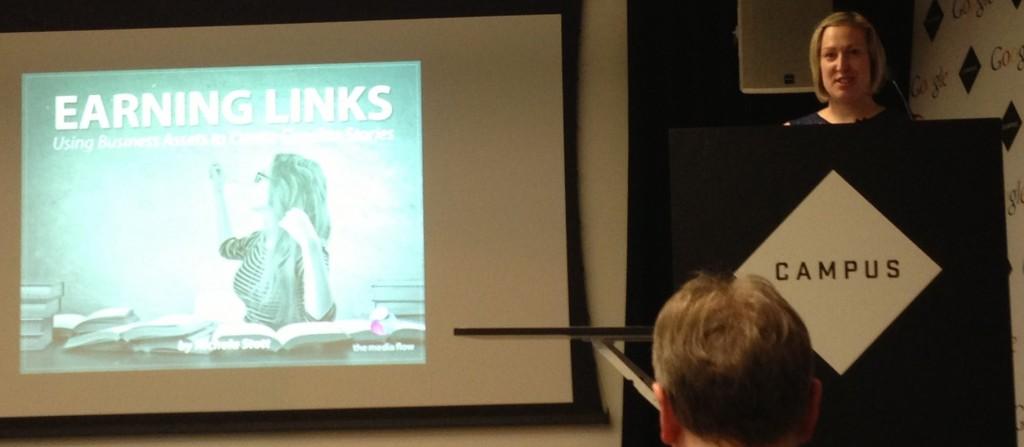 Nichola Stott Speaking at Search London