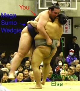 Sumo Wedgie