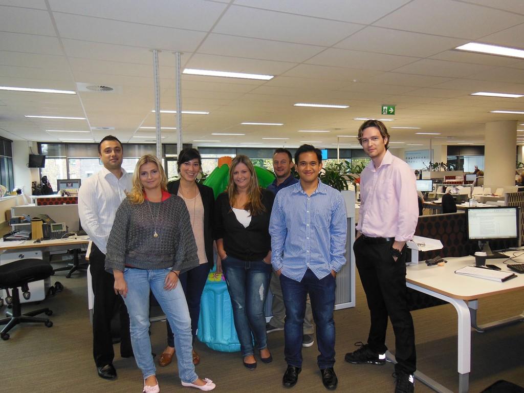 Columbus Team - Sydney, Australia